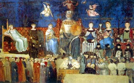 Il Buongoverno, Ambrogio Lorenzetti